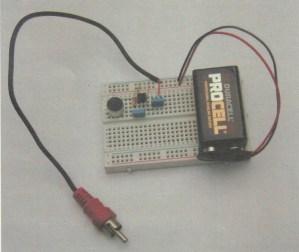 APRENDE PRACTICANDO / Pre-amplificador para micrófono electret