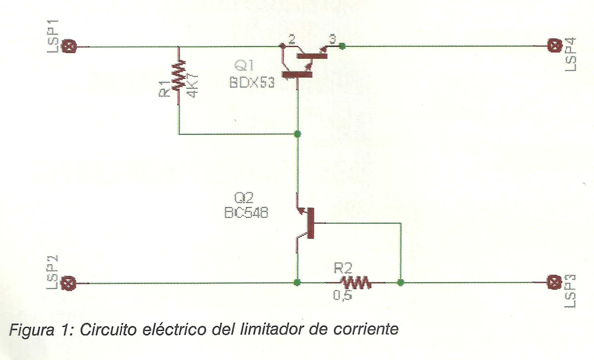 Circuito Transistor : Fusible electrónico blog de electrónica electronicasi.com