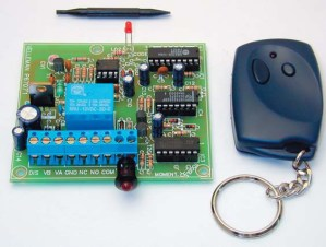 KITS / Transmisor y receptor codificado a 434 Mhz