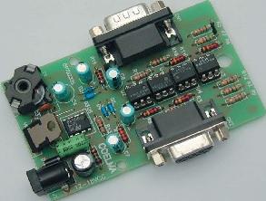 Interfaz RS232 optoacoplada