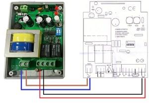 Manual sustitución de receptor de puerta de garaje