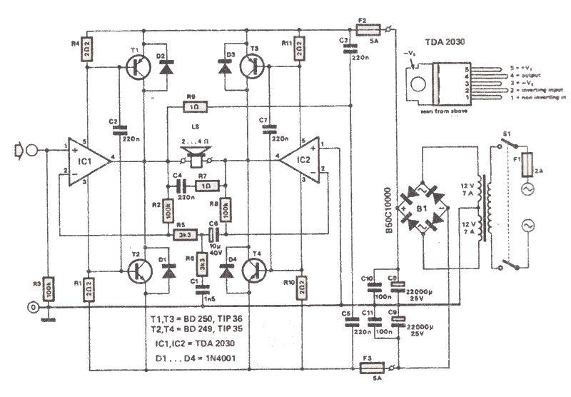 small electronic circuits