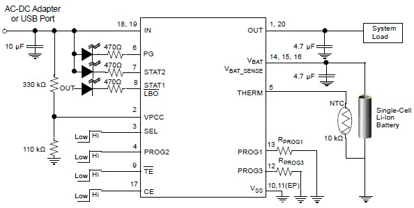 Eup8054 Liion Charger Schematic Circuit Design