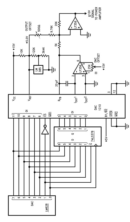 DC motor driver circuit design using LM628 LM629 dedicated