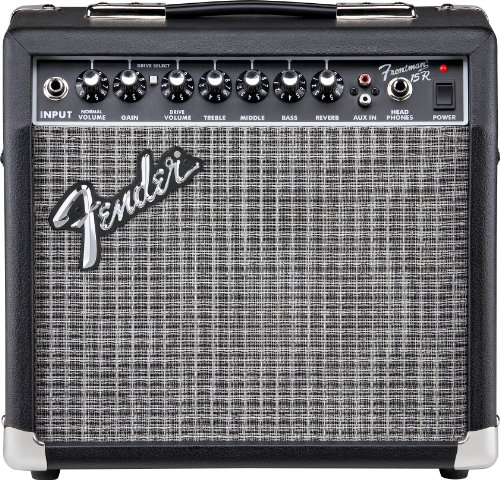 fender frontman 15r electric guitar amplifier electronic drum set shop. Black Bedroom Furniture Sets. Home Design Ideas