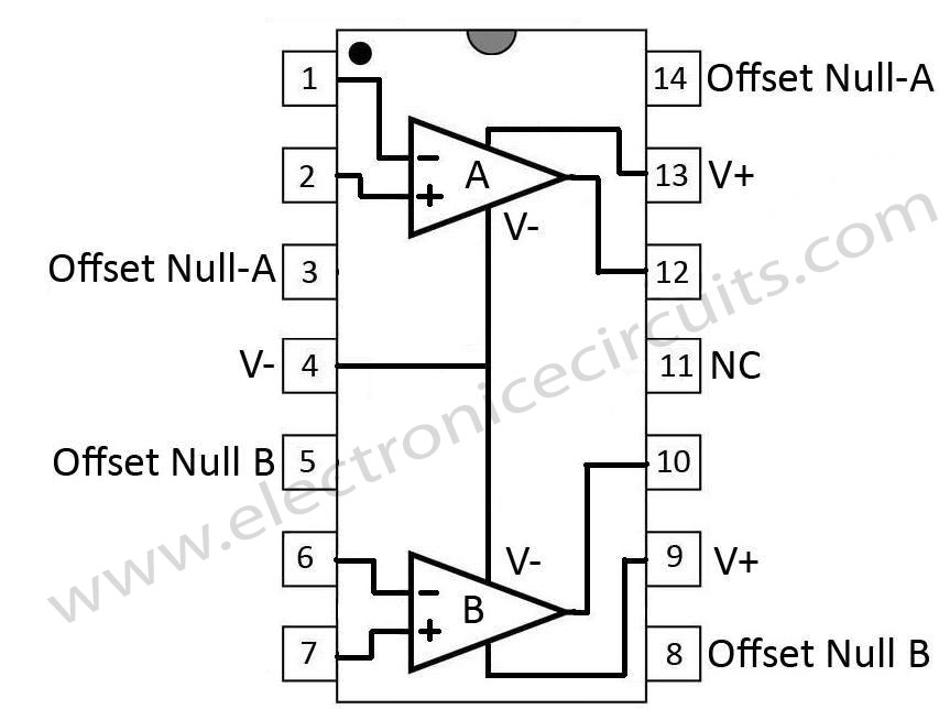 [DIAGRAM RK_5996] 741 Operational Amplifier Electronic