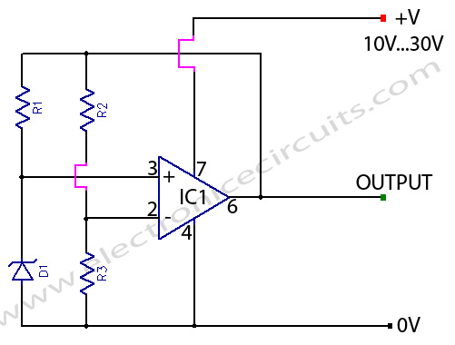 Led Lights Circuit Diagrams With Zener Diodes : 45 Wiring