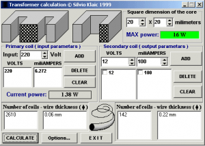 Step Up Transformer Wiring Diagrams Calculator Software Electronic Circuits