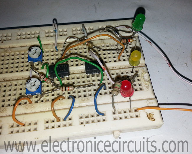 12 Volt Battery Level Indicator Led Circuit Schematic Using Ic Lm3914
