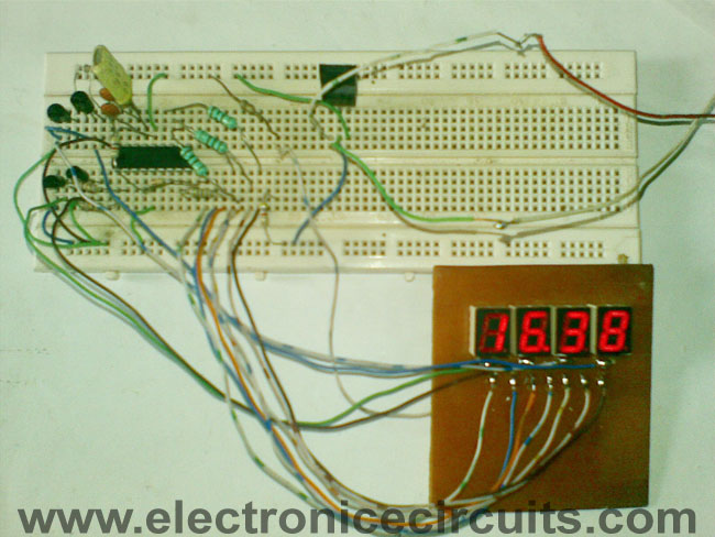 Circuit Diagram Electronic Circuit Diagram 12 Or 24 Hours Clock