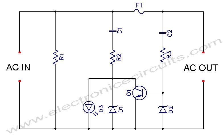 ac led circuit design