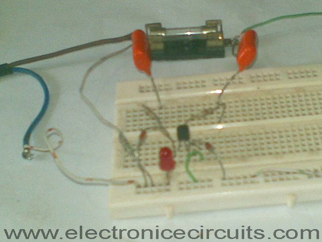 Led Blown Ac Fuse Indicator Circuit Diagram This Circuit Monitors A Ac