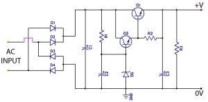 Low Ripple Regulated Power Supply Circuit Diagram