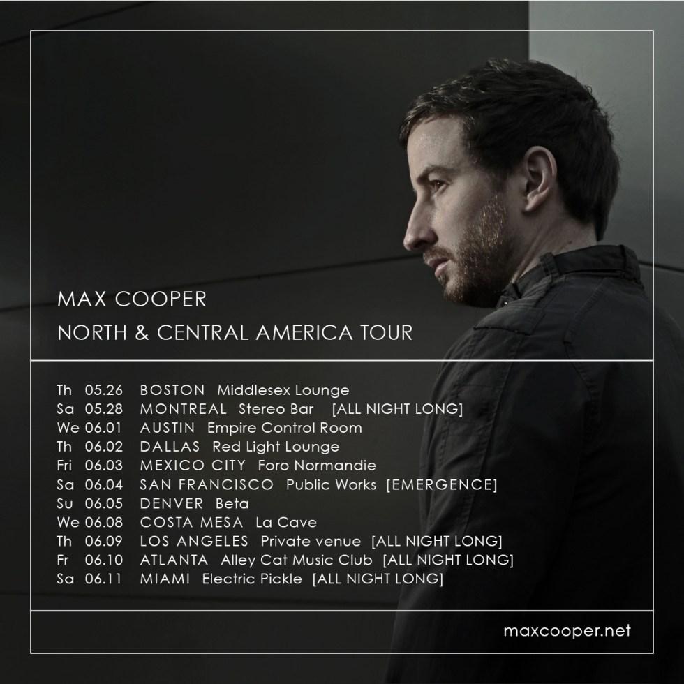 Max Cooper Tour