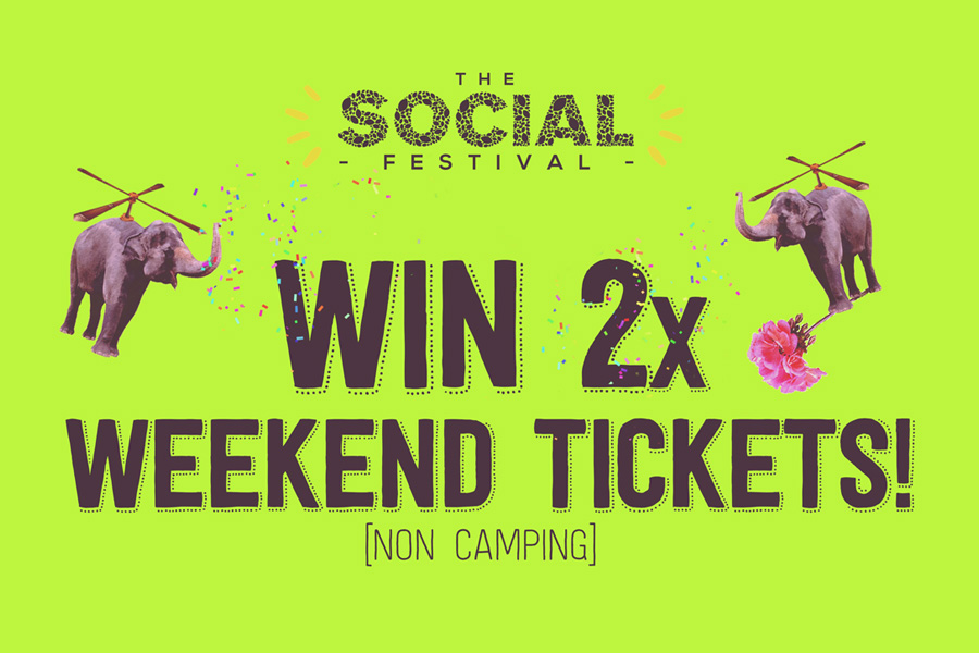 Win 2 Tickets To The Social Festival!