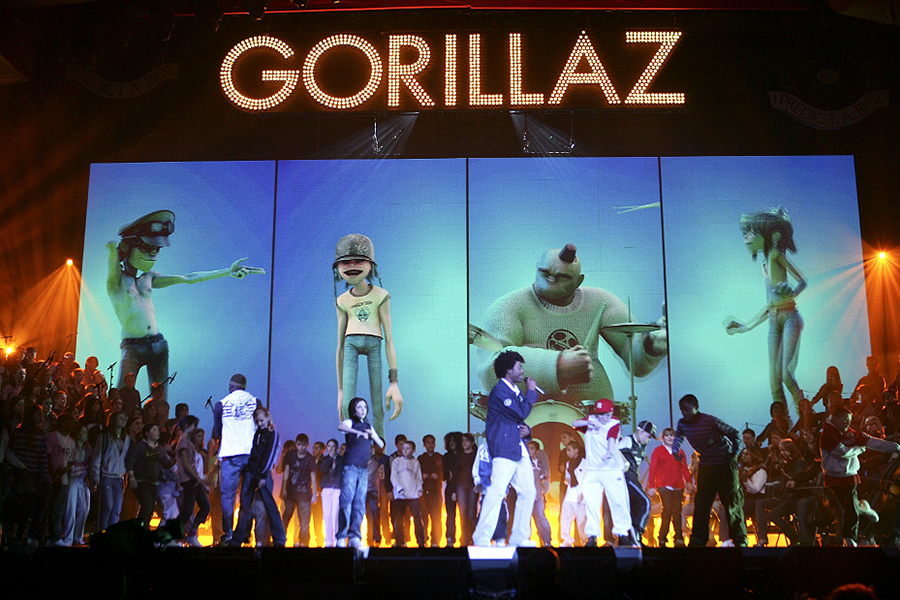 Watch Gorillaz's Concert At Their Own Festival 'Demon Dayz'