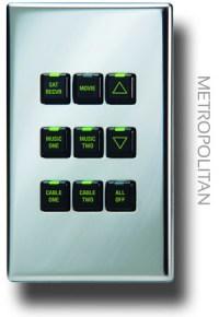 Metropolitan keypads, offering up to nine points of ...