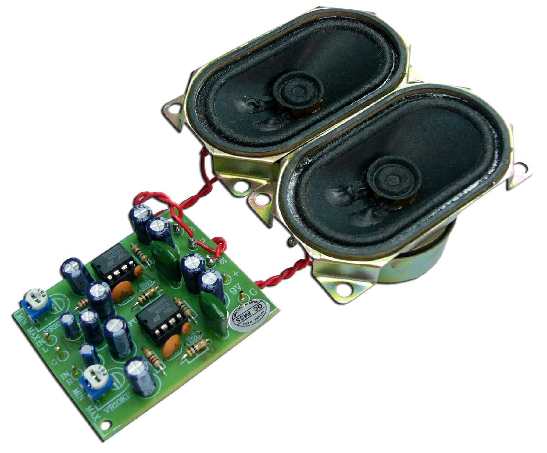 Small Audio Amplifier Circuit