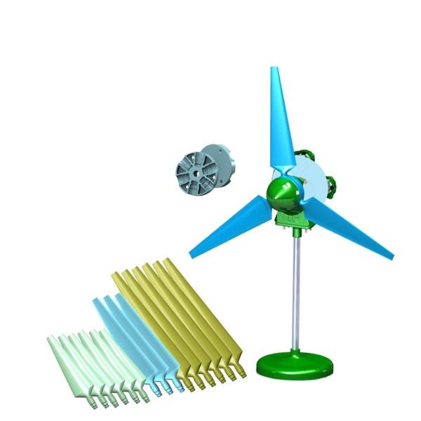 Picoturbine Sky- Limitless Wind Turbine Kit Ac Basic