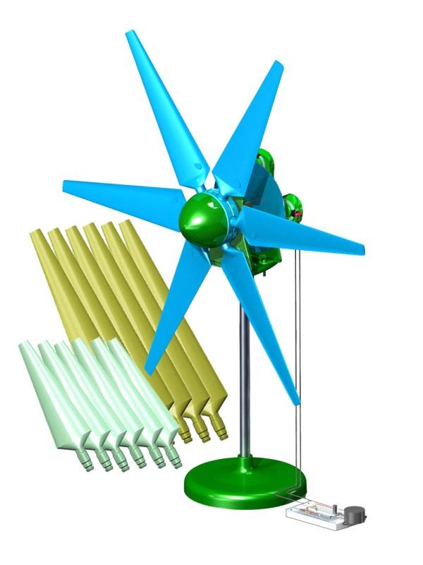 Picoturbine Sky- Limitless Wind Turbine Kit Ac Intermediate Electronic Kits