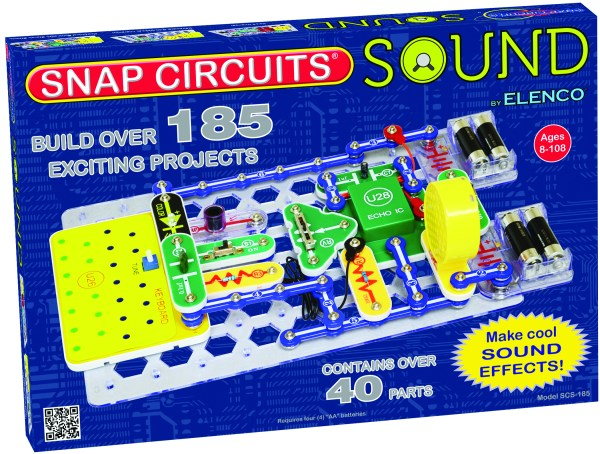 Snap Circuits Sound Electronics Learning Lab Electronic Kits