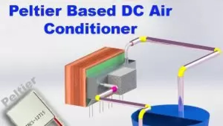 Peltier based air conditione