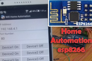 arduino esp8266 wifi module based automation Archives