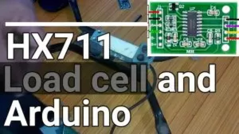 HX711 Load cell or Strain Gauge and Arduino, calibration & programming