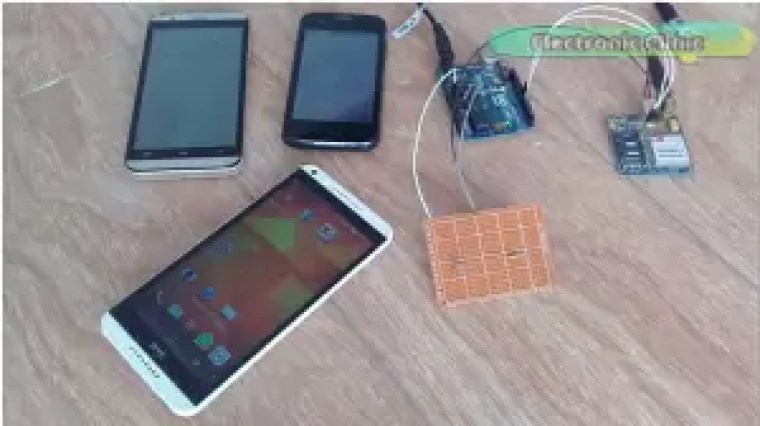 Arduino GSM Project: Security Alert message to multiple numbers