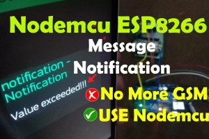esp8266 notification message