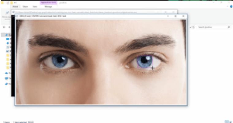 eye pupil tracking