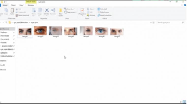 Arduino image processing Eye Pupil Tracking, how to make XML