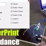 fingerprint attendance