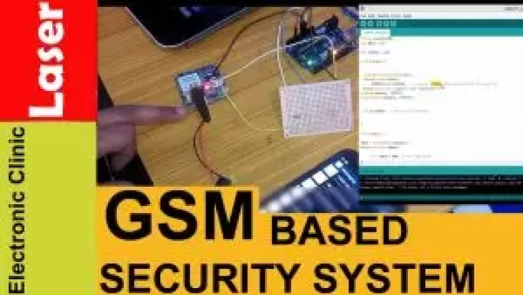 Arduino and Gsm based laser security system