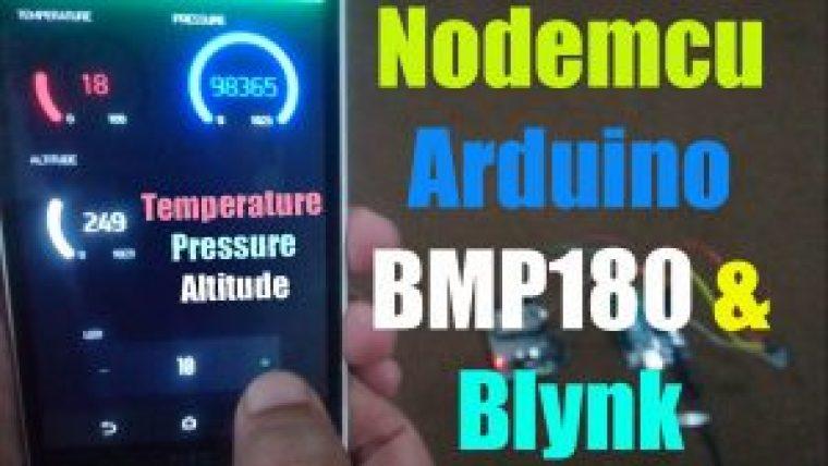 Nodemcu and bmp180