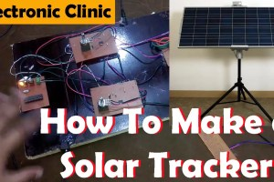 single axis solar tracker Archives - Electronic Clinic