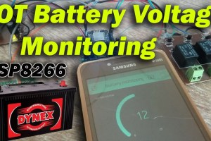 iot battery monitor