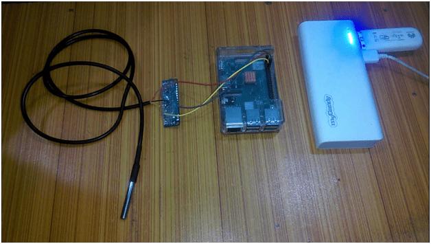 Raspberry Pi DS18B20