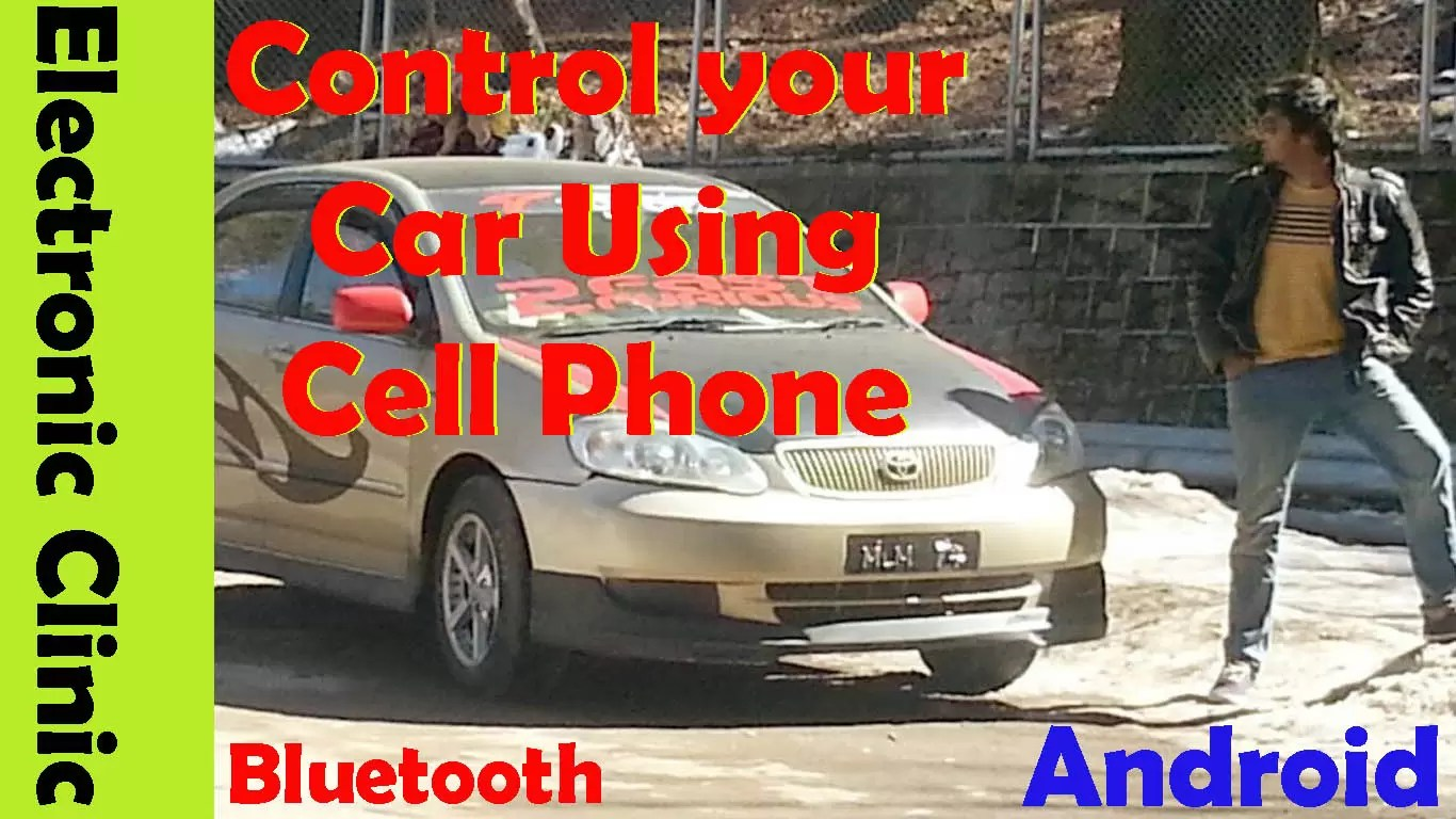 Unlock my car with my phone, Start engine, Anti theft using