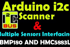 Arduino i2c Scanner and Multiple i2c Sensors