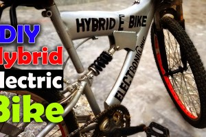 Hybrid E Bike or Electric Bike