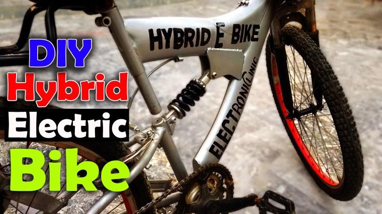 Hybrid E Bike or Electric Bike
