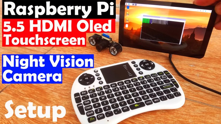 5.5 Inch Oled touchscreen & Night Vision