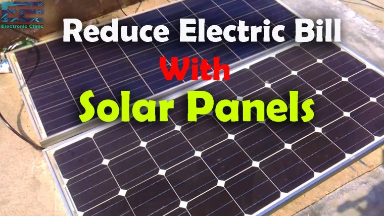 Reduce Electric Bill with Solar Panels