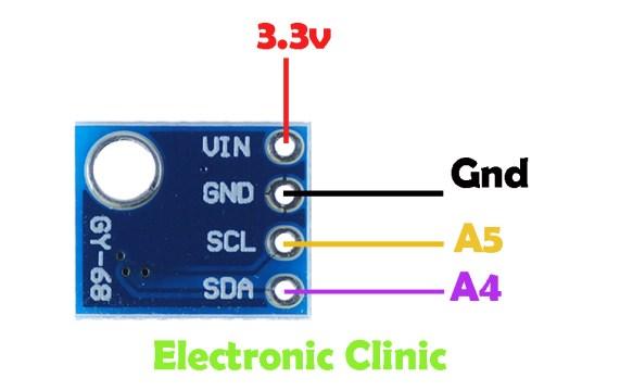 Arduino i2c Scanner and Multiple i2c Sensors