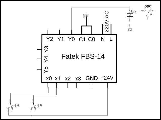 PLC ladder logic programming examples