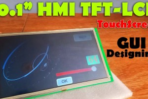 HMI Intelligent TFT LCD