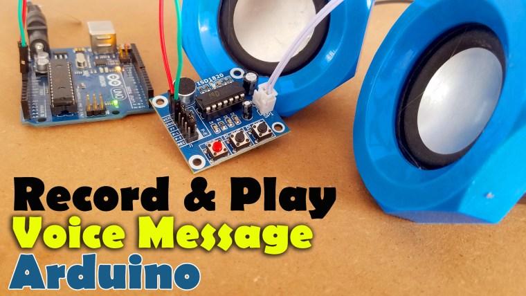 Arduino ISD1820