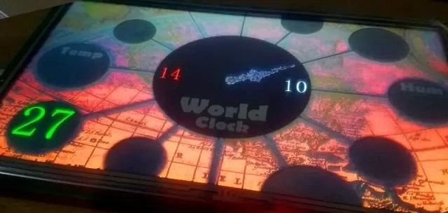Diy Digital World Clock
