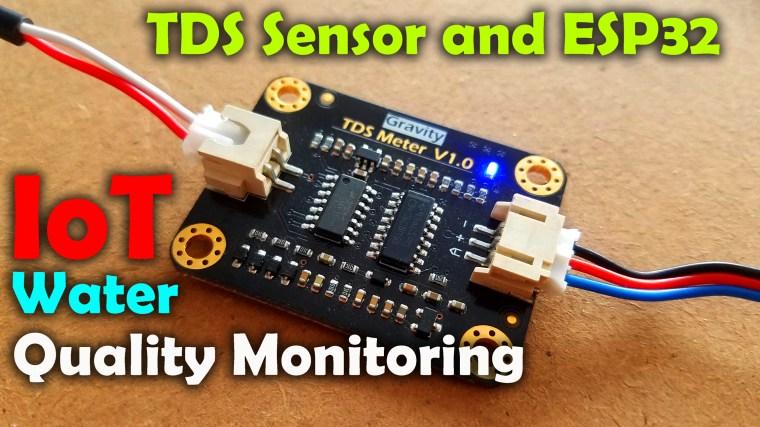 TDS Sensor and ESP32